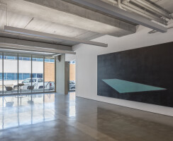 We designed our office to be a blend of a living laboratory, showcase and art gallery.