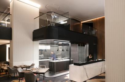 Restaurant Europea by Jérôme Ferrer