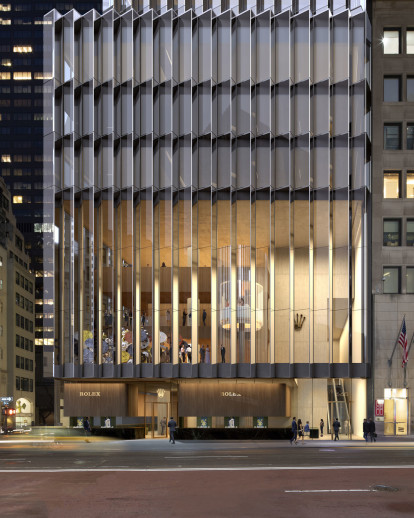 David Chipperfield Architects selected to design Rolex USA headquarters in New York