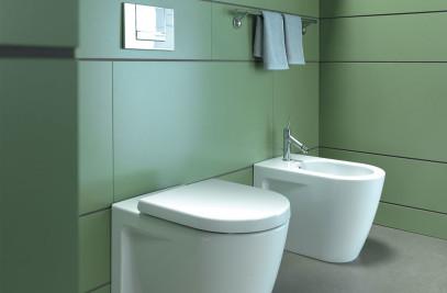 Starck 2 toilet