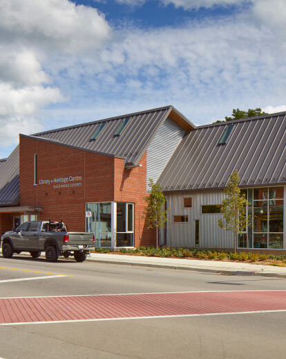 Haldimand County Library + Heritage Centre