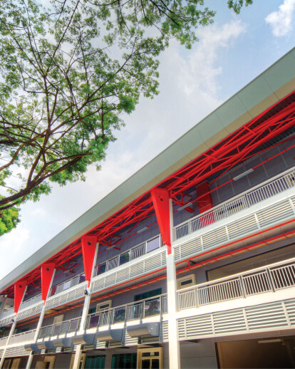 Zero Energy Building at BCA Academy