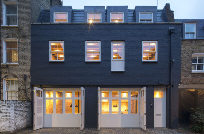 Paddington mews office