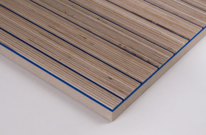 Plexwood Acoustic - Wool felt rigid