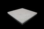 Silberquarzit Light, diamond-cut surface