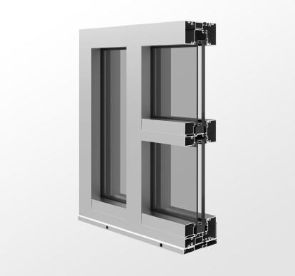 YHS 50 TU Storefront System