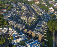 …an exclusive residential enclave, of 106 semi-detached houses and 3 bungalows, in Central Singapore.