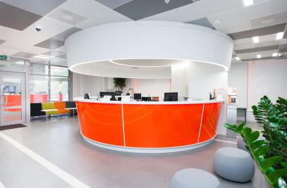Large European Bank office