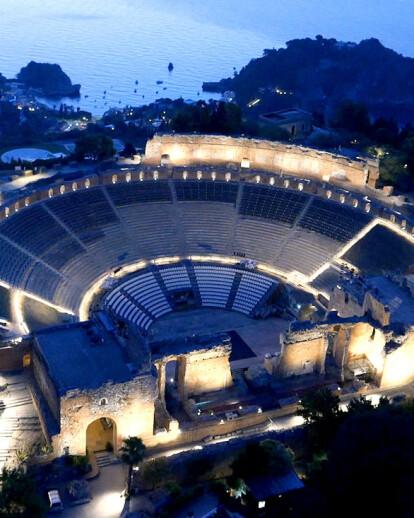 The Ancient Theatre of Taormina