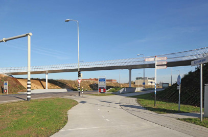Europalaan bridge Beek