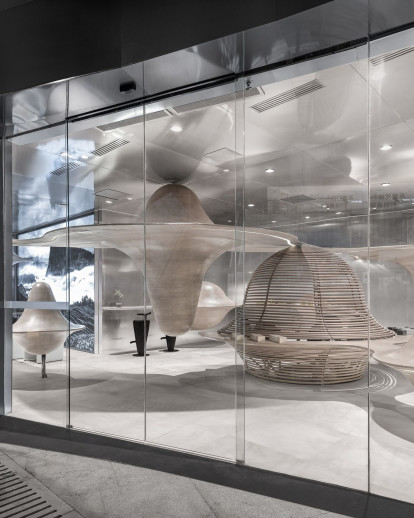 Zhuyeqing Green Tea Flagship Store: A Sensory Retail Experience