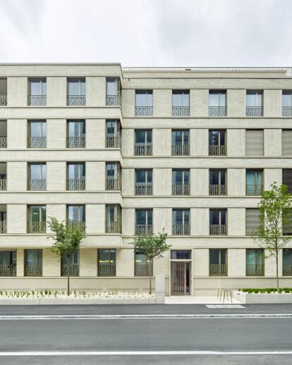 Apartment Building Todistrasse Zurich Adp Architektur Design Planung Ag Archello