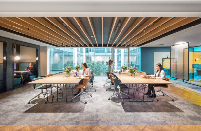 Landmark space – Portman House Co-working space