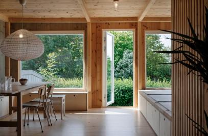 Wood Slat Shotgun House