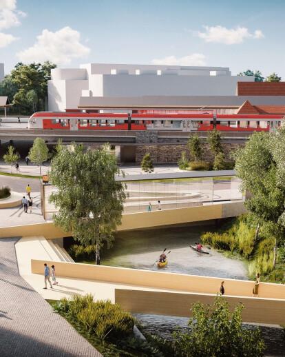 Skøyen Metro Station