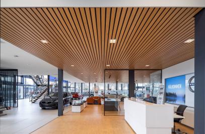 Linear - Veneered Wood Ceilings Interior