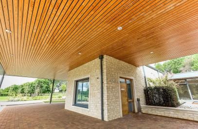 Solid Wood Ceilings Exterior