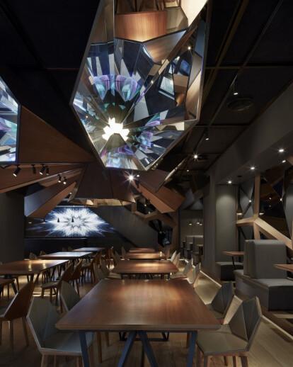 Blooming restaurant