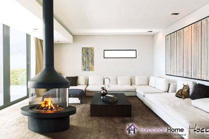Meijifocus  Wood or Gas Fireplace