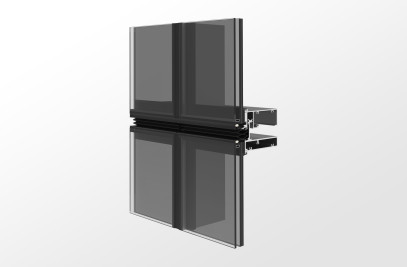 YUW 750 XTH Impact and Blast Resistant Unitized Curtain Wall