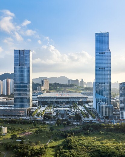The Shenzhen North Station Huide Tower