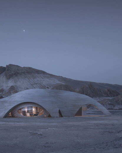 3D printed habitats for Mars Point to robotics revolution in architecture on earth