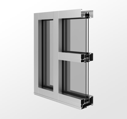 YES 45 XT Storefront System