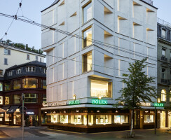 Bucherer Flagship Store, facade Bahnhofstrasse