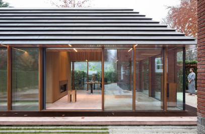 Tiny office pavilion in Vught