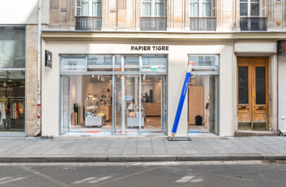 New Showroom Papier Tigre
