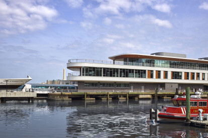 View of Pier 4 approaching from water