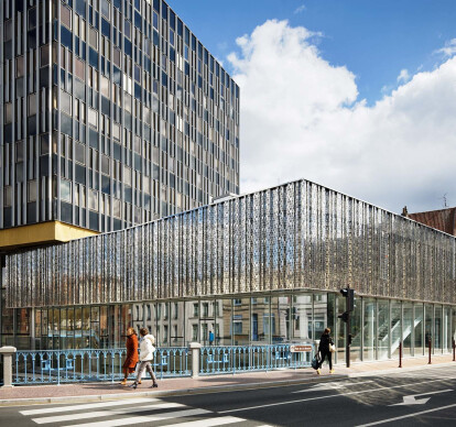 Courthouse extension in Douai, France