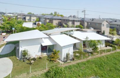 Six-Sheet Roof House
