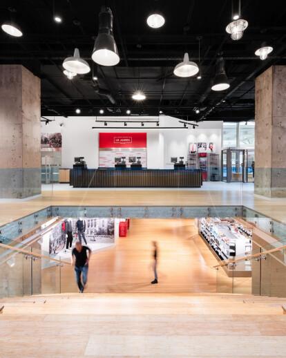 Le James - McGill University Bookstore