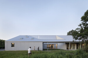 Rural Quebec community welcomes a contemporary home for artists-in-residence