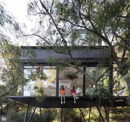 Tree House in Argentina