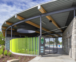 Rose Park Pool Operations Building - New Building