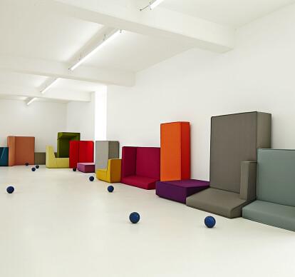 Modular cubit Sofa