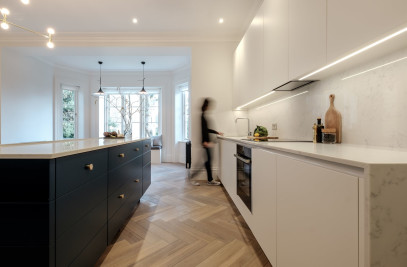 Hampstead, London- Luxury flat refurbishment