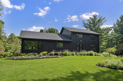 Black Modern Farmhouse