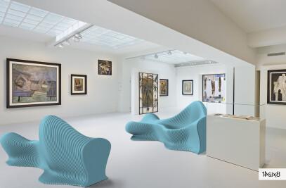 Fluid - Acoustic parametric seating