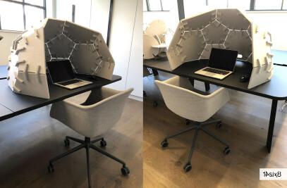 Hide - Acoustic desk dome