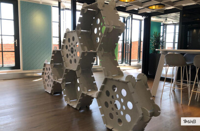 Swarm - Acoustic office partition