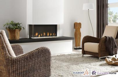 Trisore 95 Gas Fireplace