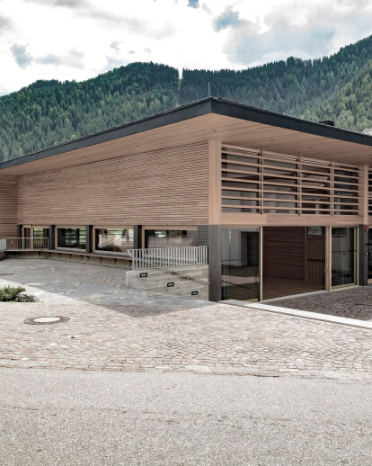 Community Hall in Lungiarü