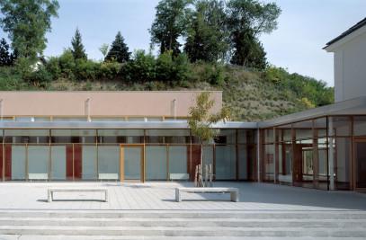 School in Lower Austria. Bad Pirawarth