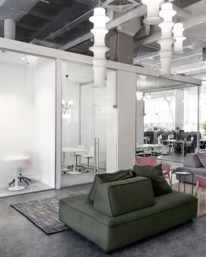 Office full of life