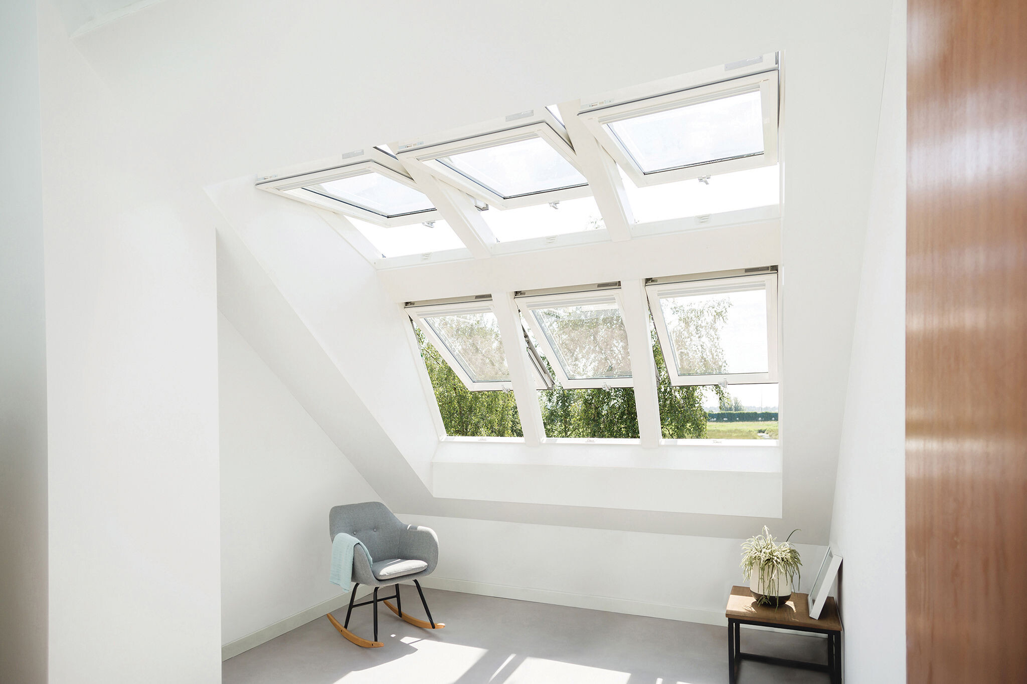 Cosy place full of natural light