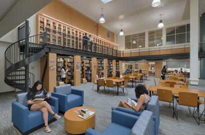 Palo Alto High School Library