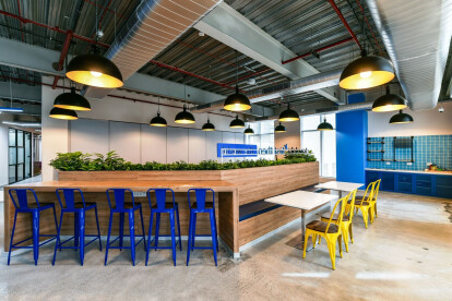 Office collab space